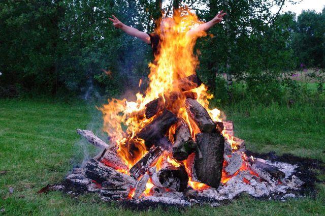 Darek bostwo ognia