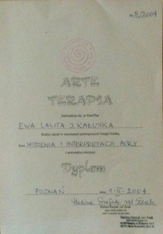 Arte Terapia - Kurs  Widzenia i interpretacji Aury - Halina  Szejak vel Żeak