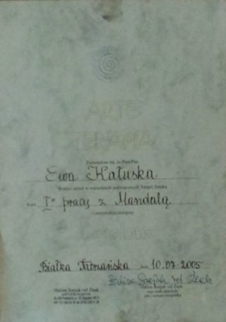 Praca z Mandalą Halina Szejak vel Żeak