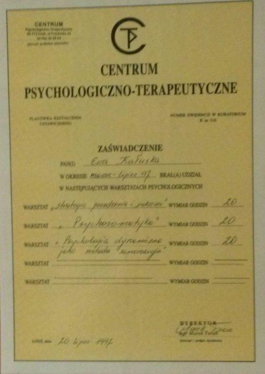 Strategia powodzenia i sukcesu, Psychosomatyka, Psychologia dynamiczna jako metoda samorozwoju