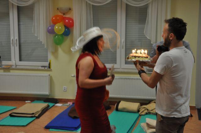 urodzinki i tort